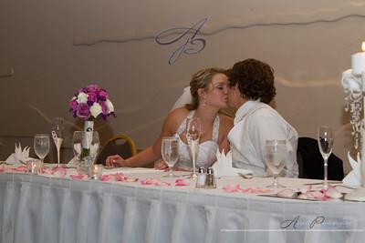 Anna & Brent's reception photos at The Omni Golf Resort, Tucson Arizona