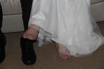 comfortable bride