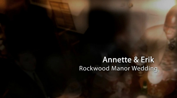 Annette Erik Rockwood Manor Potomac Maryland Wedding Photo Show  Click Arrow to Play Show
