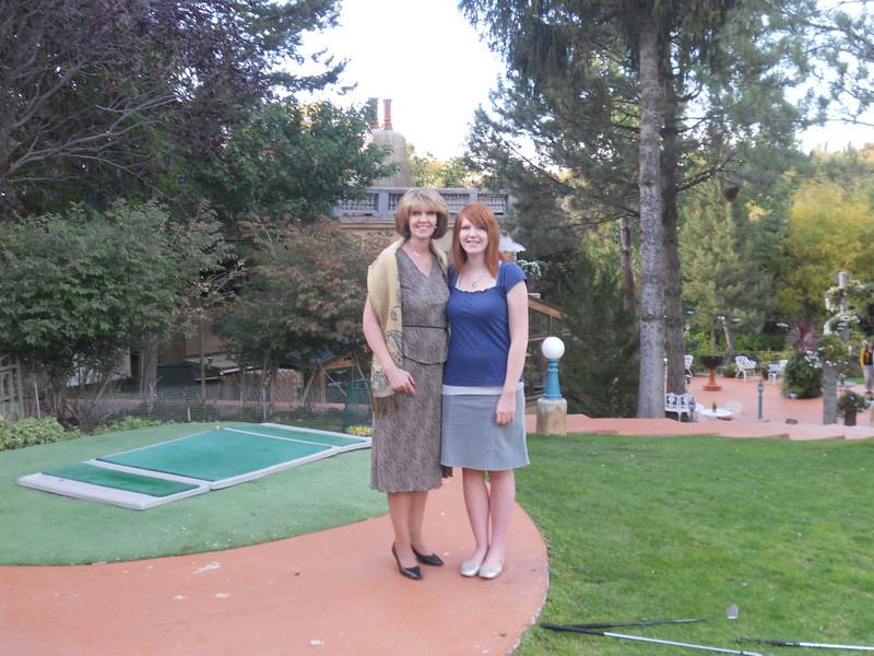 Kathryn and Emma
