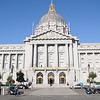 S.F. City Hall early on Weds. September 3rd.