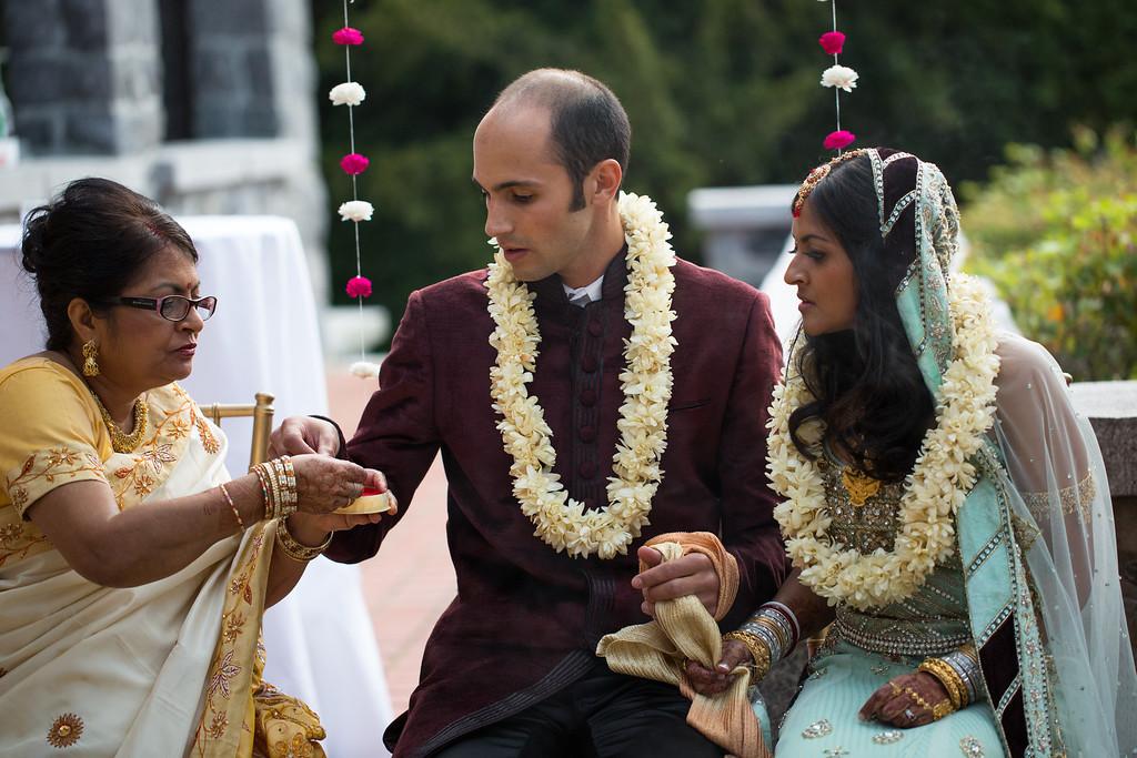 arun and joe wedding