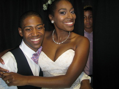Aryele Carter and Brock Redmond Wedding Reception and Ceremony 8/12/16
