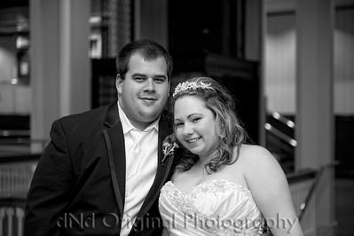258 Ashton & Norman Wedding b&w