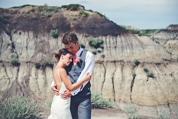 Ashley & Brandon - Drumheller Wedding