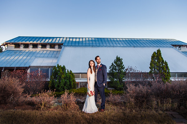 Ashley and Andrew | Flagstaff Arboretum Wedding
