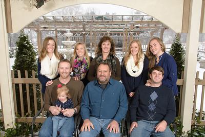 Ashley and Greg Family Portraits