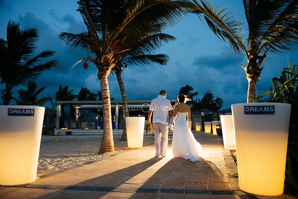 ashley + tom | wedding | dreams, nettle bay, saint martin