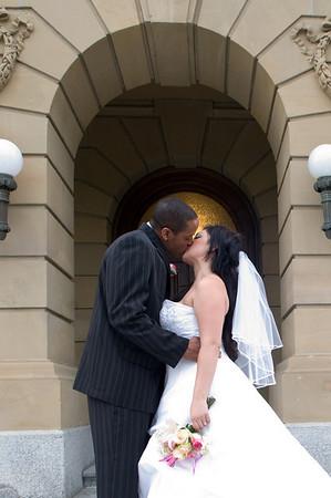 Ashley & Marlon Wedding Aug 28, 09
