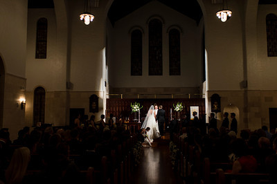 Ashley and Thomas' Wedding at First Evangelical Lutheran Church and Petroleum Club in downtown Houston, TX  Order Prints: http://bit.ly/AshleyThomas thomasandpenelope.com