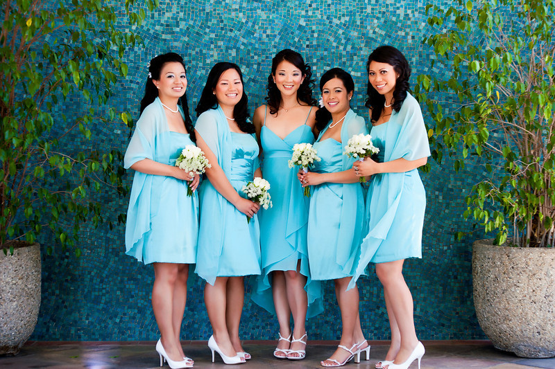 asian wedding bridesmaid