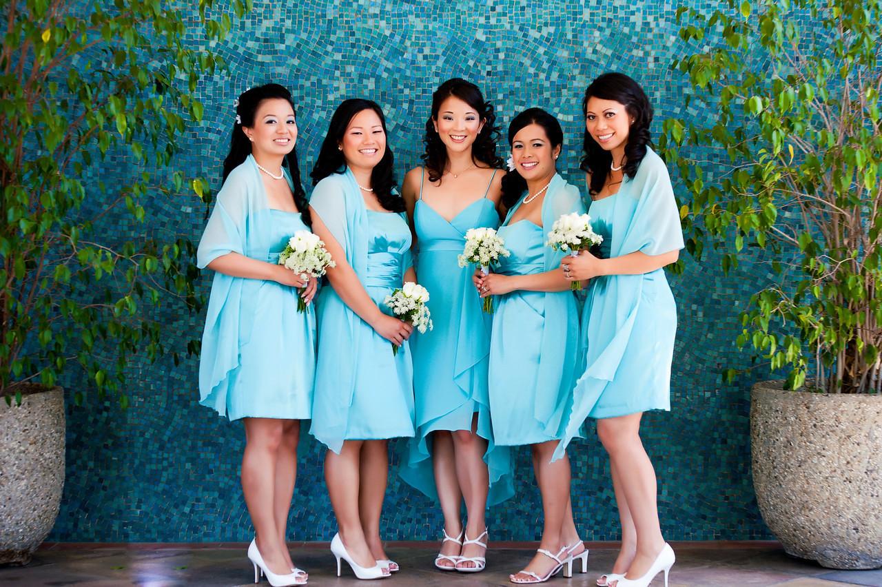 asian wedding bridesmaid