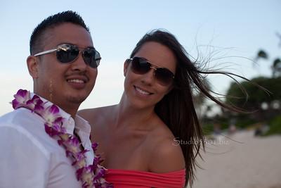 Ron & Gerda   at Beach  - 1326