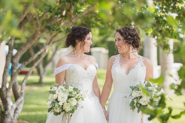Aston + Cairl - Twin Wedding