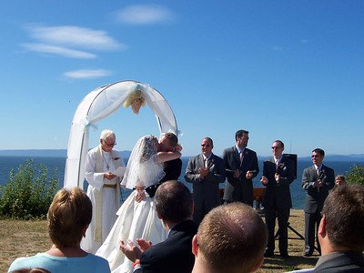Aug. 27, '05: THE WATTS WEDDING @ Point Roberts, WA