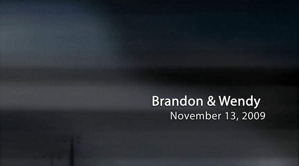 Brandon & Wendy Wedding