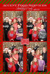 Accent Food Services Holiday Party 2015