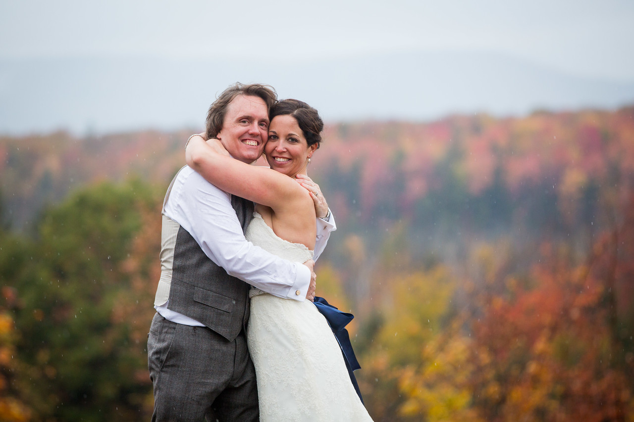 A wedding at Snow Moon Ranch in Maple City Michigan.