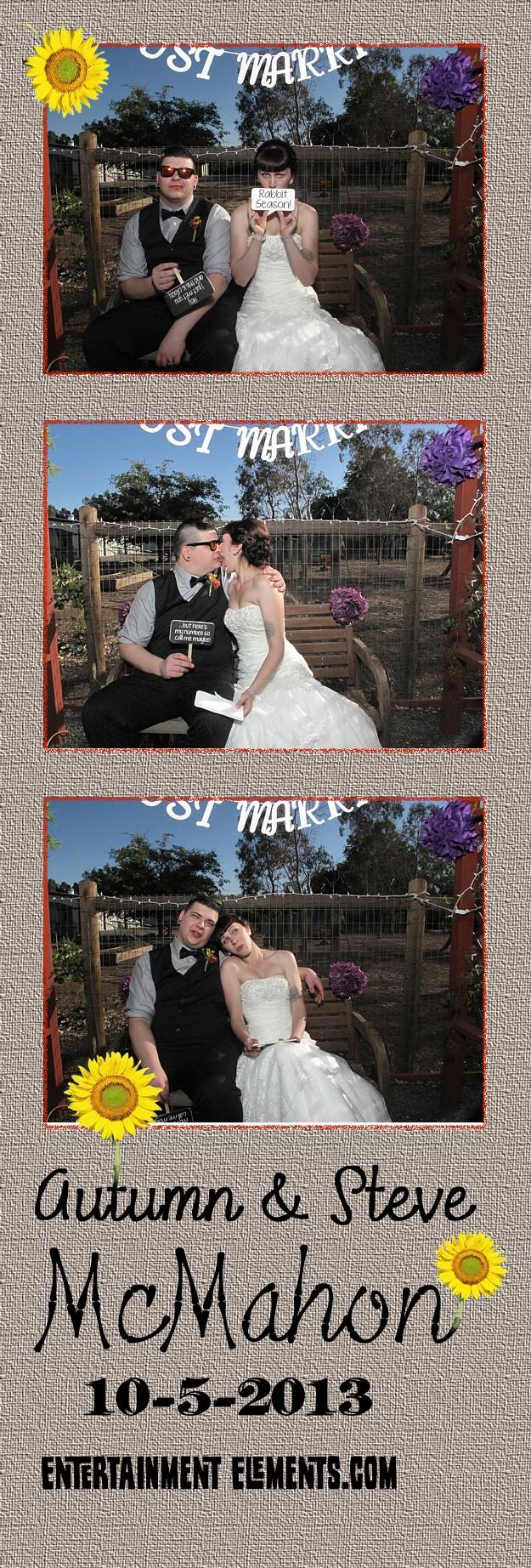 Autumn & Steven's Photo Strips