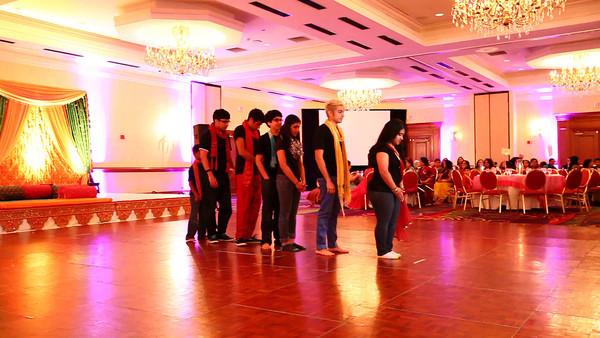 Avni and Raj Sangeet