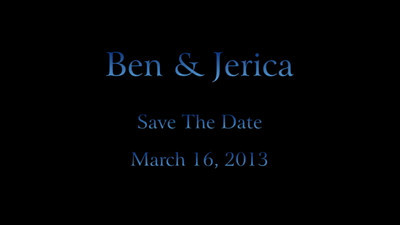 BEN AND JERICA FINAL SAVE THE DATE VIDEO AND PICTURES
