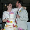 May 2016 Cake Cutting and a Champagne Toast