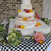 May 2016 Coconut Wedding Cake