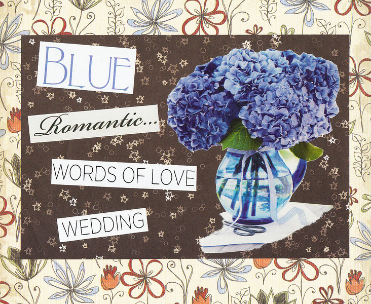 Words of Love - Save the Date/Table Name Card or Decoration<br /> <br /> 4 x 5.5 Postcard (elegant text available on back)
