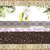 Brown Stars - Wedding Invitation<br /> <br /> 5.5 x 8.5 postcard with text on the back