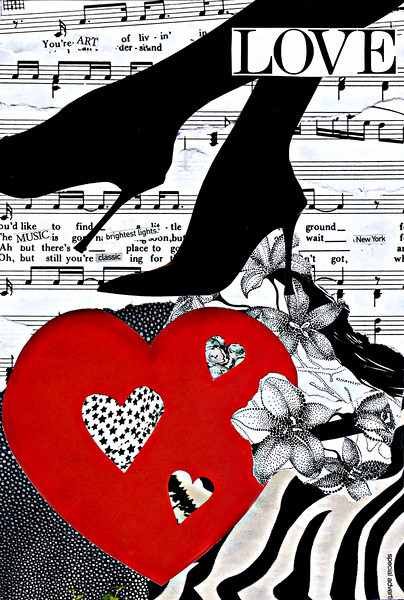 LOVE - Modern Love Collection<br /> <br /> Wedding Invitation/Home Decor