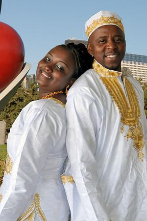 Baimba and Hawa Tarawally Wedding Minnesota