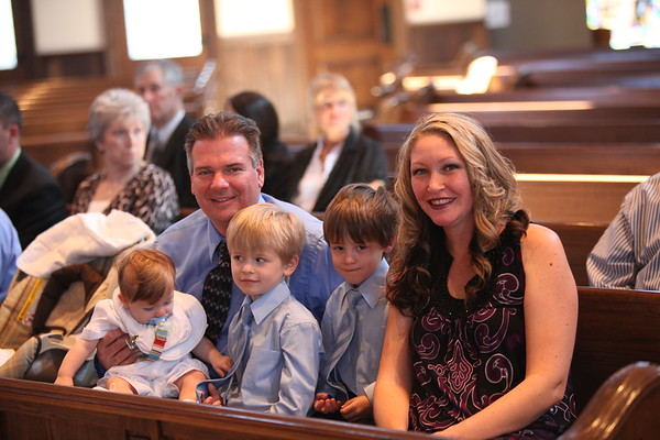 Caden's Baptism