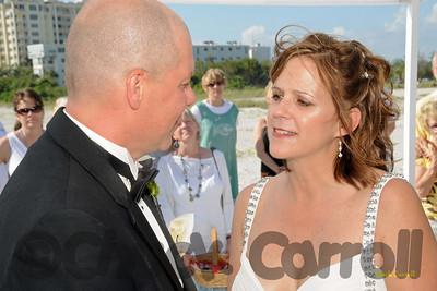 Beach Wedding -- Ledo Beach --  Sarasota, Florida