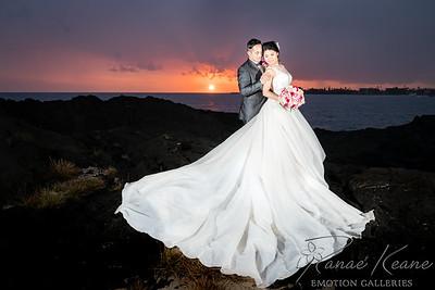 Hawaii Wedding ©2017 Ranae Keane-Bamsey Photography www.EMotionGalleries.com