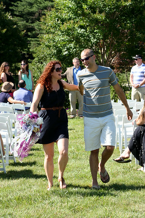 Becky and Kyle Rehersal & Wedding