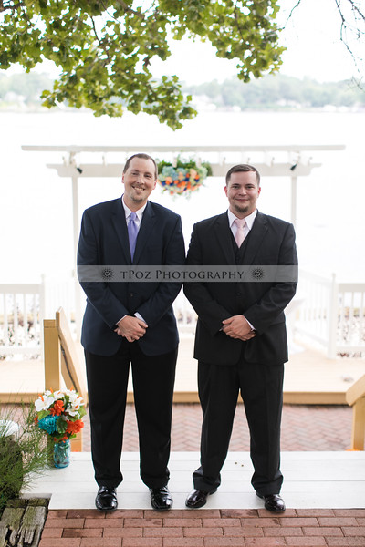 Becky+Mike's Bleue's on the Water Wedding