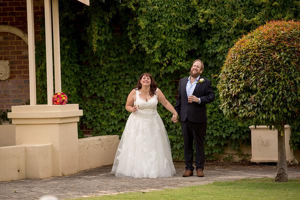 Kym + Stu's Wedding