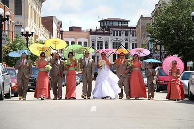 Leach wedding