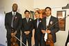 Reunion of sorts: Joel Dawson, Eric Cheng, Ed Wu, Jonathan Liu