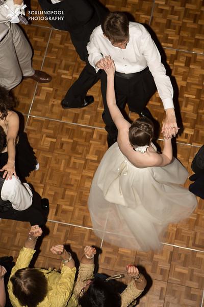 Berkley and Alex, dancing