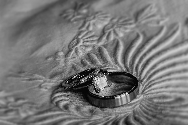 Rings on the dress