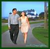 Walking laughing