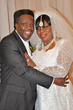Bishop  Weds Pastor Annie