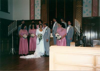 Bob & Debby's Wedding - 9/87