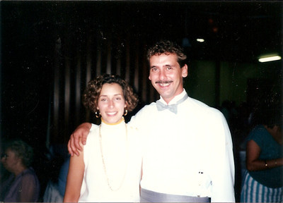 Jane & Greg at Bob & Debby's wedding 9/87