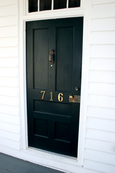Front door of the Mary Gay House