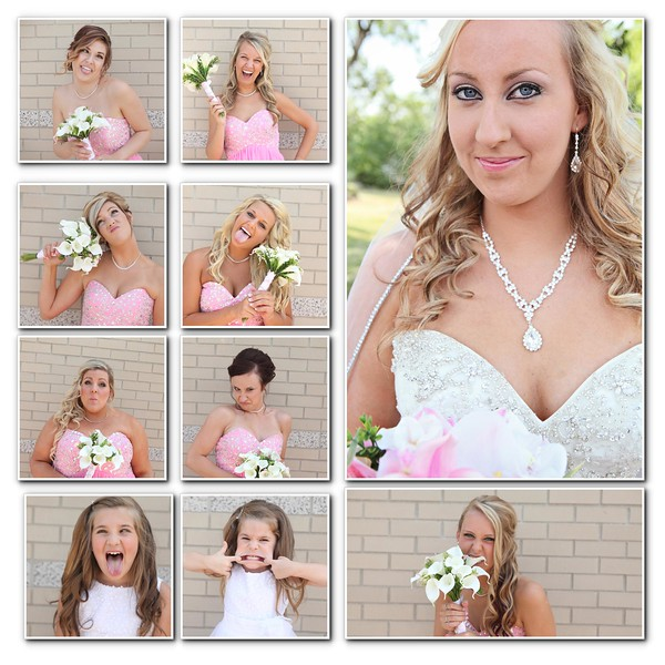 girl collage funny