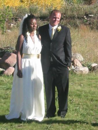 Brad & Keisha's Wedding, September 29- October 2, 2005, Aspen, Colorado