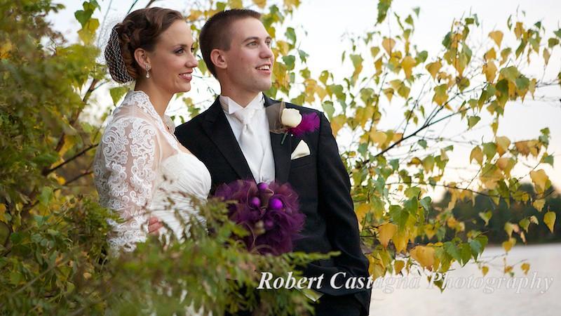 fall new england wedding