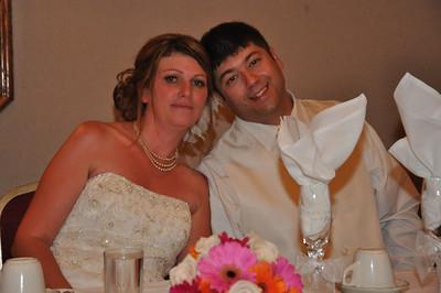 Brad and Christine Holcomb wedding